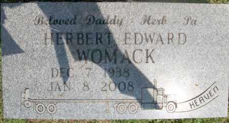 WOMACK, HERBERT EDWARD - Warren County, Tennessee | HERBERT EDWARD WOMACK - Tennessee Gravestone Photos