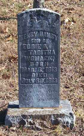 WOMACK, HENRY HAMBY - Warren County, Tennessee | HENRY HAMBY WOMACK - Tennessee Gravestone Photos