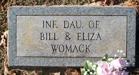 WOMACK, INF. DAU - Warren County, Tennessee | INF. DAU WOMACK - Tennessee Gravestone Photos