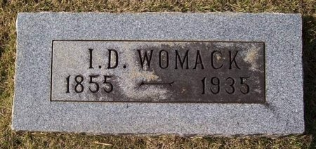 WOMACK, I. D. - Warren County, Tennessee | I. D. WOMACK - Tennessee Gravestone Photos