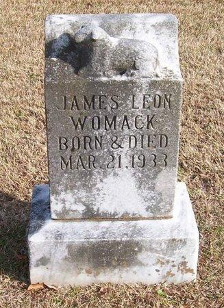 WOMACK, JAMES LEON - Warren County, Tennessee | JAMES LEON WOMACK - Tennessee Gravestone Photos