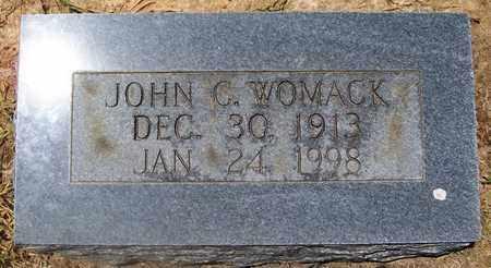 WOMACK, JOHN C. - Warren County, Tennessee | JOHN C. WOMACK - Tennessee Gravestone Photos