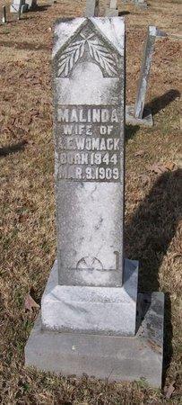 WOMACK, MALINDA - Warren County, Tennessee | MALINDA WOMACK - Tennessee Gravestone Photos