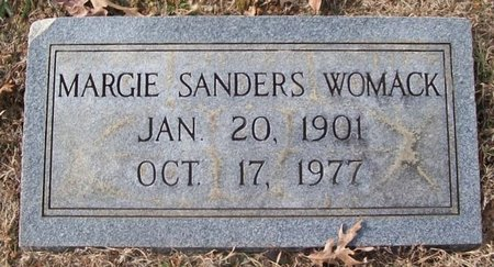 WOMACK, MARGIE - Warren County, Tennessee | MARGIE WOMACK - Tennessee Gravestone Photos
