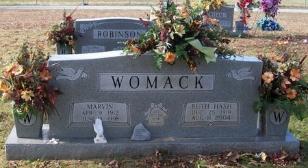 WOMACK, RUTH - Warren County, Tennessee | RUTH WOMACK - Tennessee Gravestone Photos