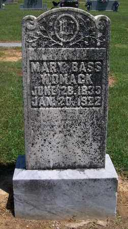 WOMACK, MARY - Warren County, Tennessee | MARY WOMACK - Tennessee Gravestone Photos
