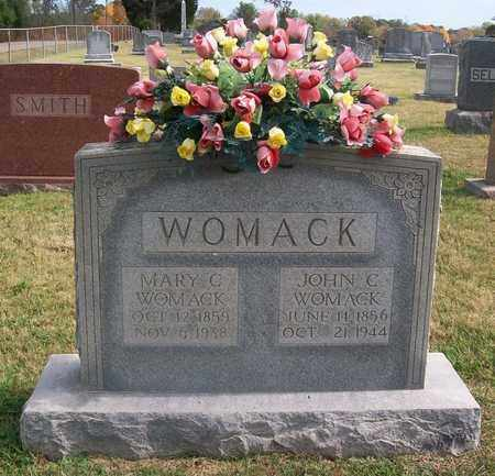 WOMACK, MARY C. - Warren County, Tennessee | MARY C. WOMACK - Tennessee Gravestone Photos