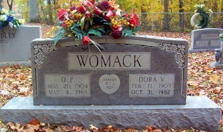WOMACK, O. P. - Warren County, Tennessee | O. P. WOMACK - Tennessee Gravestone Photos