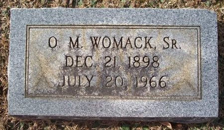 WOMACK, O. M. (SR.) - Warren County, Tennessee | O. M. (SR.) WOMACK - Tennessee Gravestone Photos