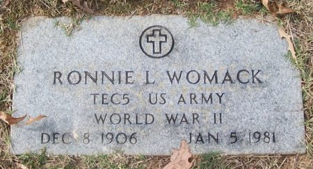 WOMACK, RONNIE LEE - Warren County, Tennessee | RONNIE LEE WOMACK - Tennessee Gravestone Photos
