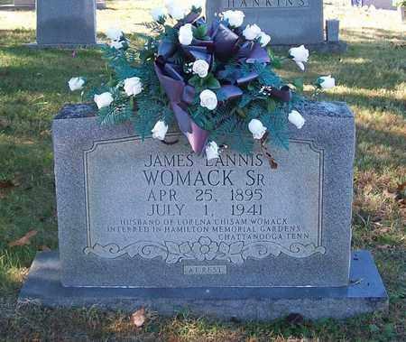 WOMACK, JAMES LANNIS (SR.) - Warren County, Tennessee | JAMES LANNIS (SR.) WOMACK - Tennessee Gravestone Photos