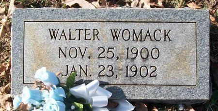 WOMACK, WALTER - Warren County, Tennessee | WALTER WOMACK - Tennessee Gravestone Photos