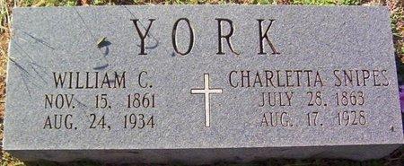 YORK, WILLIAM C. - Warren County, Tennessee | WILLIAM C. YORK - Tennessee Gravestone Photos
