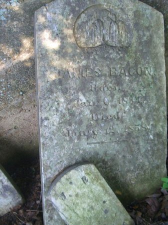 BACON, JAMES - Washington County, Tennessee | JAMES BACON - Tennessee Gravestone Photos