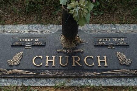 SMITH CHURCH, BETTY JEAN - Washington County, Tennessee   BETTY JEAN SMITH CHURCH - Tennessee Gravestone Photos