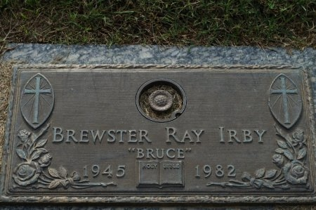 "IRBY, BREWSTER RAY ""BRUCE"" - Washington County, Tennessee 