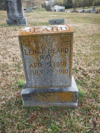 MAY, LENA E. - Washington County, Tennessee | LENA E. MAY - Tennessee Gravestone Photos