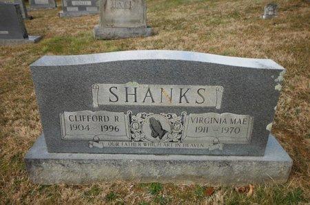 SHANKS, VIRGINIA MAE - Washington County, Tennessee | VIRGINIA MAE SHANKS - Tennessee Gravestone Photos