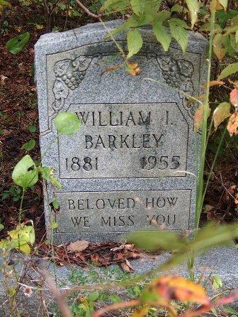 BARKLEY JR, WILLIAM IVERSON - Wayne County, Tennessee | WILLIAM IVERSON BARKLEY JR - Tennessee Gravestone Photos