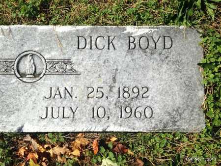 BOYD, DICK - Wayne County, Tennessee | DICK BOYD - Tennessee Gravestone Photos
