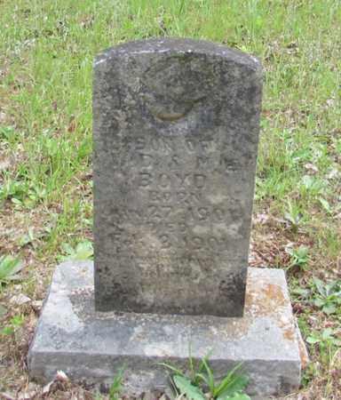 BOYD, INFANT - Wayne County, Tennessee | INFANT BOYD - Tennessee Gravestone Photos