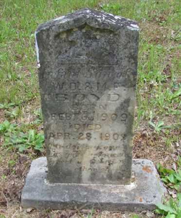BOYD, INFANT - Wayne County, Tennessee   INFANT BOYD - Tennessee Gravestone Photos