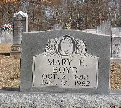 BOYD, MARY E. - Wayne County, Tennessee | MARY E. BOYD - Tennessee Gravestone Photos