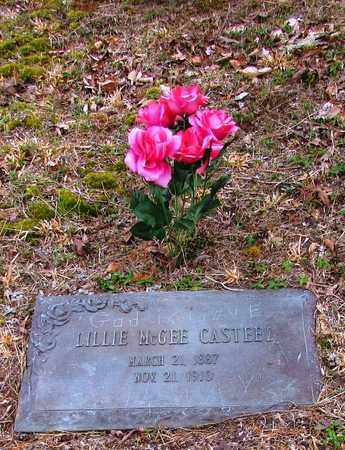 MCGEE CASTEEL, LILLIE - Wayne County, Tennessee | LILLIE MCGEE CASTEEL - Tennessee Gravestone Photos