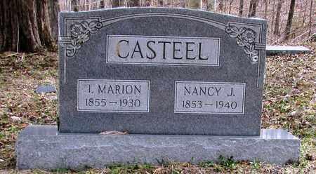 CASTEEL, NANCY J. - Wayne County, Tennessee | NANCY J. CASTEEL - Tennessee Gravestone Photos