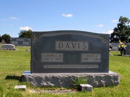 DAVIS, CHAPPELL M. - Wayne County, Tennessee   CHAPPELL M. DAVIS - Tennessee Gravestone Photos