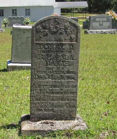 DAVIS, DONEY D. - Wayne County, Tennessee | DONEY D. DAVIS - Tennessee Gravestone Photos
