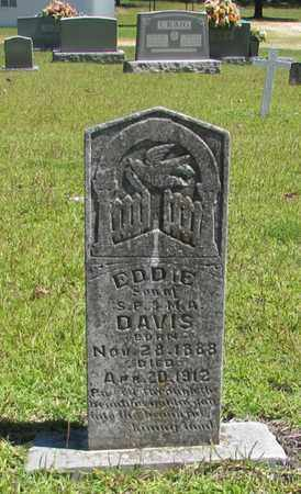 DAVIS, EDDIE - Wayne County, Tennessee | EDDIE DAVIS - Tennessee Gravestone Photos