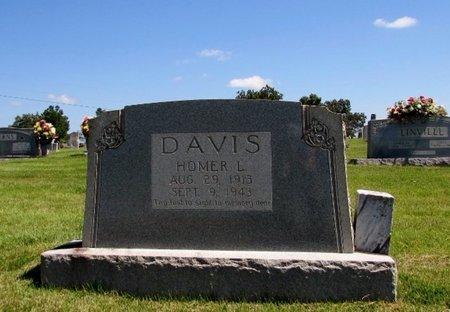 DAVIS, HOMER L. - Wayne County, Tennessee | HOMER L. DAVIS - Tennessee Gravestone Photos