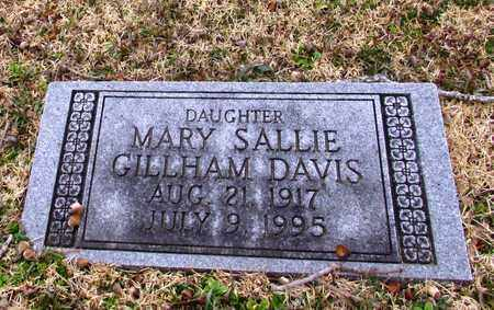 DAVIS, MARY SALLIE - Wayne County, Tennessee | MARY SALLIE DAVIS - Tennessee Gravestone Photos