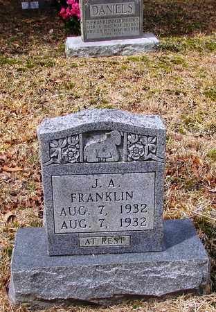 FRANKLIN, J. A. - Wayne County, Tennessee   J. A. FRANKLIN - Tennessee Gravestone Photos