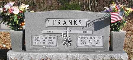 FRANKS, SR., SAMUEL ODELL - Wayne County, Tennessee | SAMUEL ODELL FRANKS, SR. - Tennessee Gravestone Photos