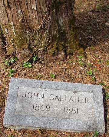 GALLAHER, JOHN - Wayne County, Tennessee | JOHN GALLAHER - Tennessee Gravestone Photos