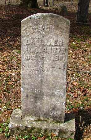 GALLAHER, LUCAS E. - Wayne County, Tennessee | LUCAS E. GALLAHER - Tennessee Gravestone Photos