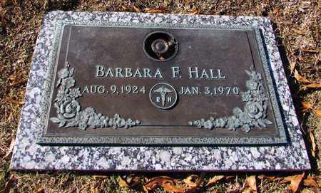 HALL, BARBARA F. - Wayne County, Tennessee | BARBARA F. HALL - Tennessee Gravestone Photos
