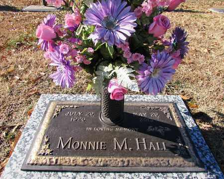 HALL, MONNIE M. - Wayne County, Tennessee | MONNIE M. HALL - Tennessee Gravestone Photos