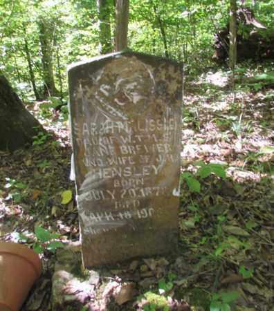 HENSLEY, SARAH MALISSA - Wayne County, Tennessee | SARAH MALISSA HENSLEY - Tennessee Gravestone Photos