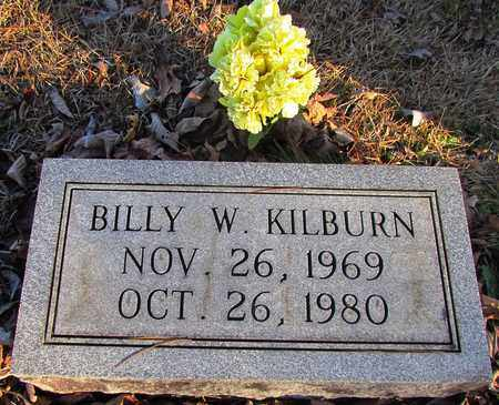 KILBURN, BILLY W. - Wayne County, Tennessee   BILLY W. KILBURN - Tennessee Gravestone Photos