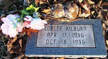 KILBURN, LORENE - Wayne County, Tennessee | LORENE KILBURN - Tennessee Gravestone Photos