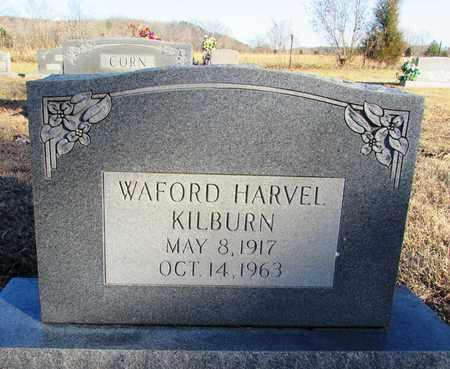 KILBURN, WAFORD HARVEL - Wayne County, Tennessee   WAFORD HARVEL KILBURN - Tennessee Gravestone Photos