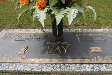 KELLY LAY, ANN - Wayne County, Tennessee | ANN KELLY LAY - Tennessee Gravestone Photos