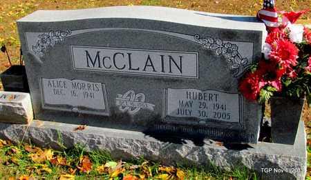 MCCLAIN, HUBERT - Wayne County, Tennessee   HUBERT MCCLAIN - Tennessee Gravestone Photos