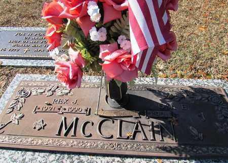 MCCLAIN, REX J. - Wayne County, Tennessee | REX J. MCCLAIN - Tennessee Gravestone Photos