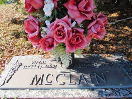 MCCLAIN, SALLIE A. - Wayne County, Tennessee | SALLIE A. MCCLAIN - Tennessee Gravestone Photos