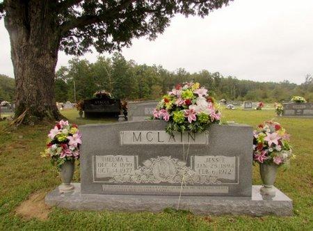 MCCLAIN, JESS E. - Wayne County, Tennessee | JESS E. MCCLAIN - Tennessee Gravestone Photos