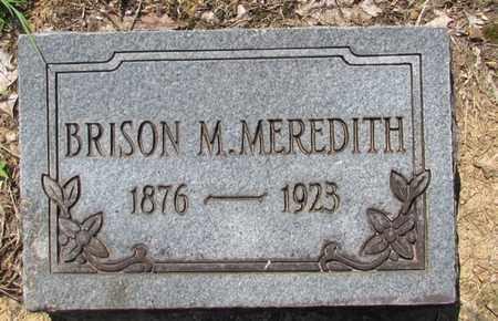MEREDITH, BRISON M. - Wayne County, Tennessee | BRISON M. MEREDITH - Tennessee Gravestone Photos
